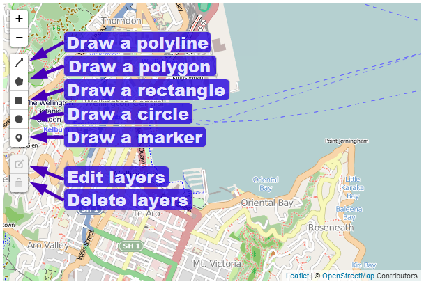 D3 js Tips and Tricks: Using the Leaflet draw plugin for leaflet js