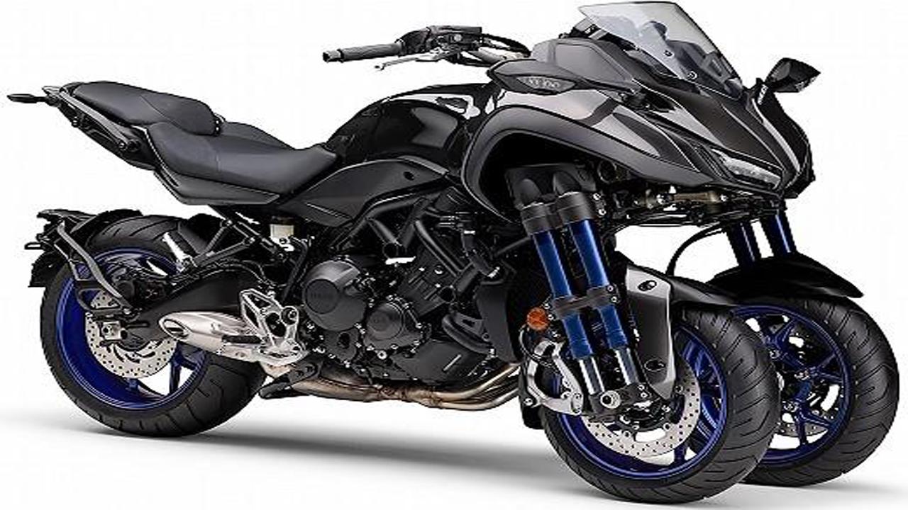 motorcycle racing yamaha niken number 2 motor review usa breaking news. Black Bedroom Furniture Sets. Home Design Ideas