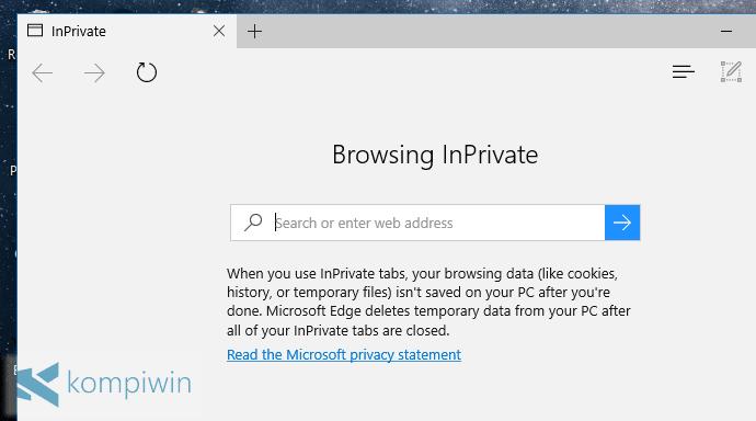 Cara Mengawali Semua Browsers dengan Mode Private-Browsing 22
