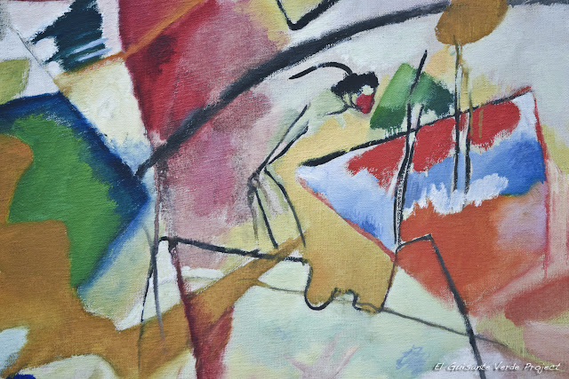 Kandinsky en el Art Institute Chicago, por El Guisante Verde Project