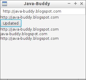 Java-Buddy: Add listener to StringProperty to monitor property change