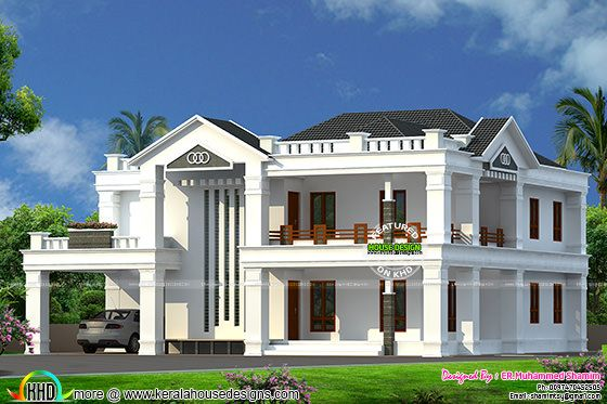 Semi Colonial style 4 bedroom home