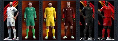 PES 2016 FC Zorya Luhansk kits 16-17 by Radymir