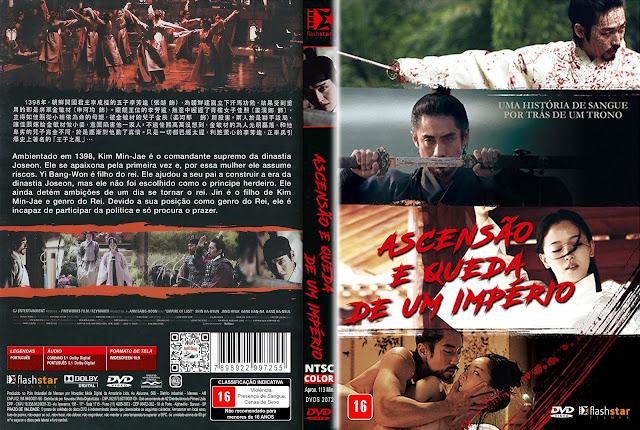 Capa DVD Ascensão e Queda de Um Império [Custom]
