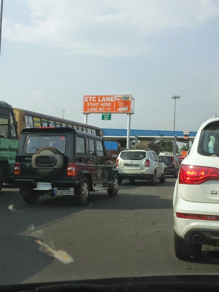 My Experience With Fastag Electronic Toll Collection System