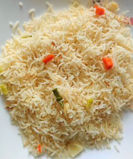 image of egg free vinegar free allergy friendly fried rice recipe