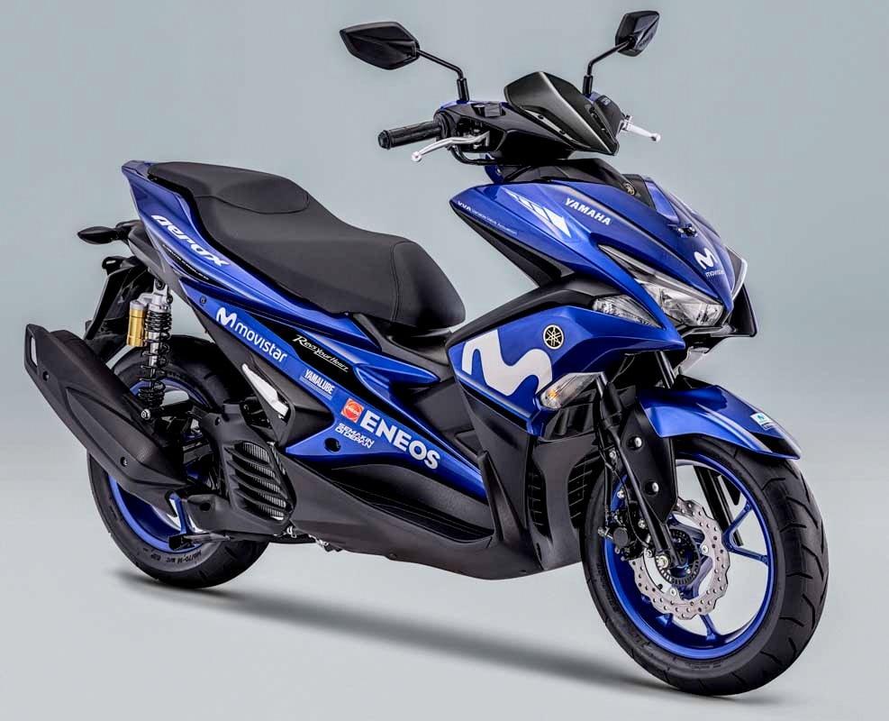 Yamaha Indonesia resmi merilis tiga produk dengan livery MotoGP Movistar 2018