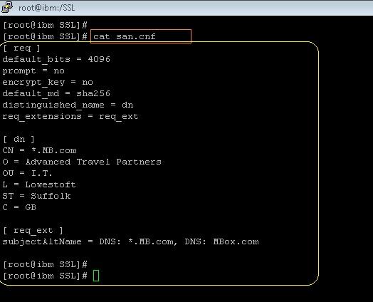 MiddlewareBox: Openssl Commands for Wildcard & SAN certificates.