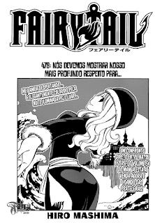 Fairy Tail 479 Mangá Português leitura online