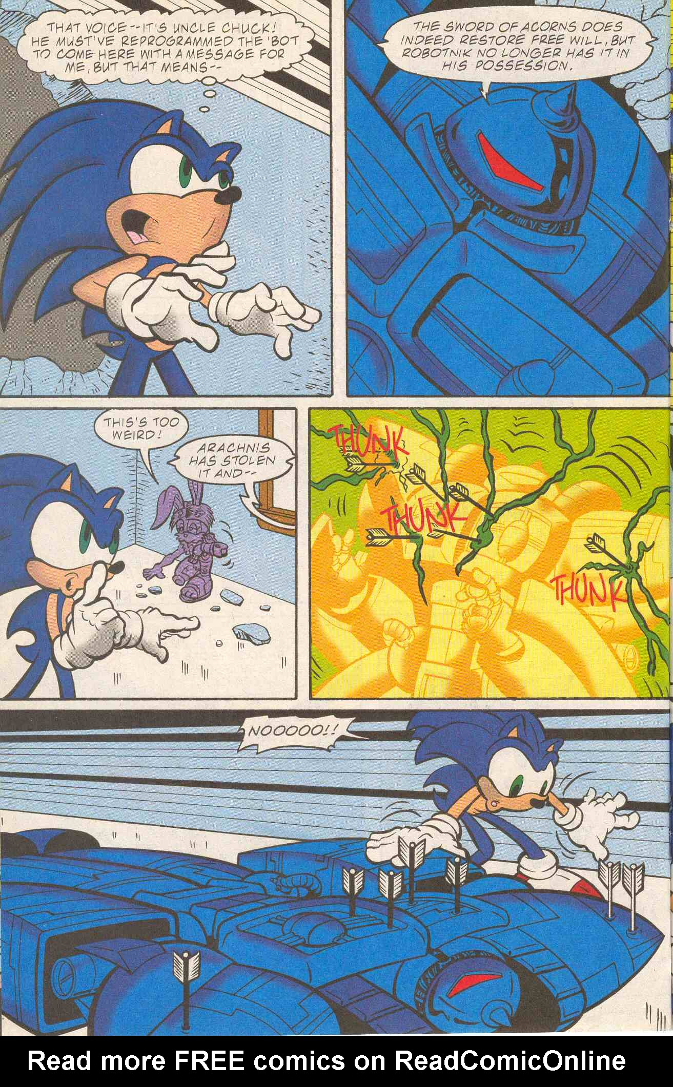 Read online Sonic The Hedgehog comic -  Issue #96 - 14