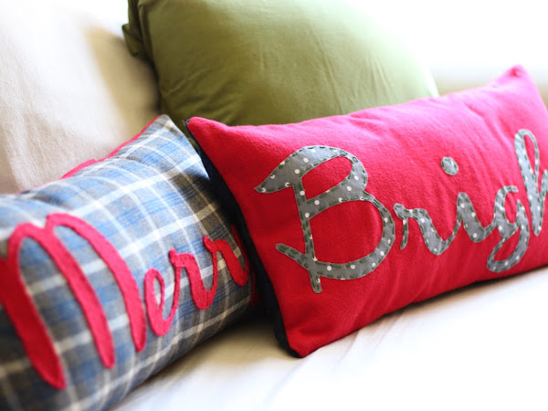 How to Make a Holiday Envelope Style Pillow Sham