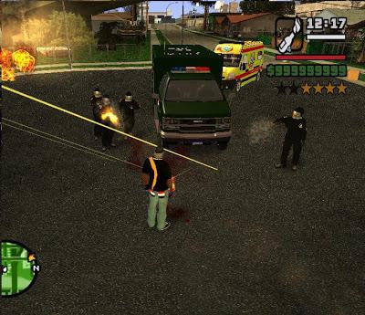 تحميل لعبة GTA Egypt Team   الأصدار الأخير من ميديا فاير