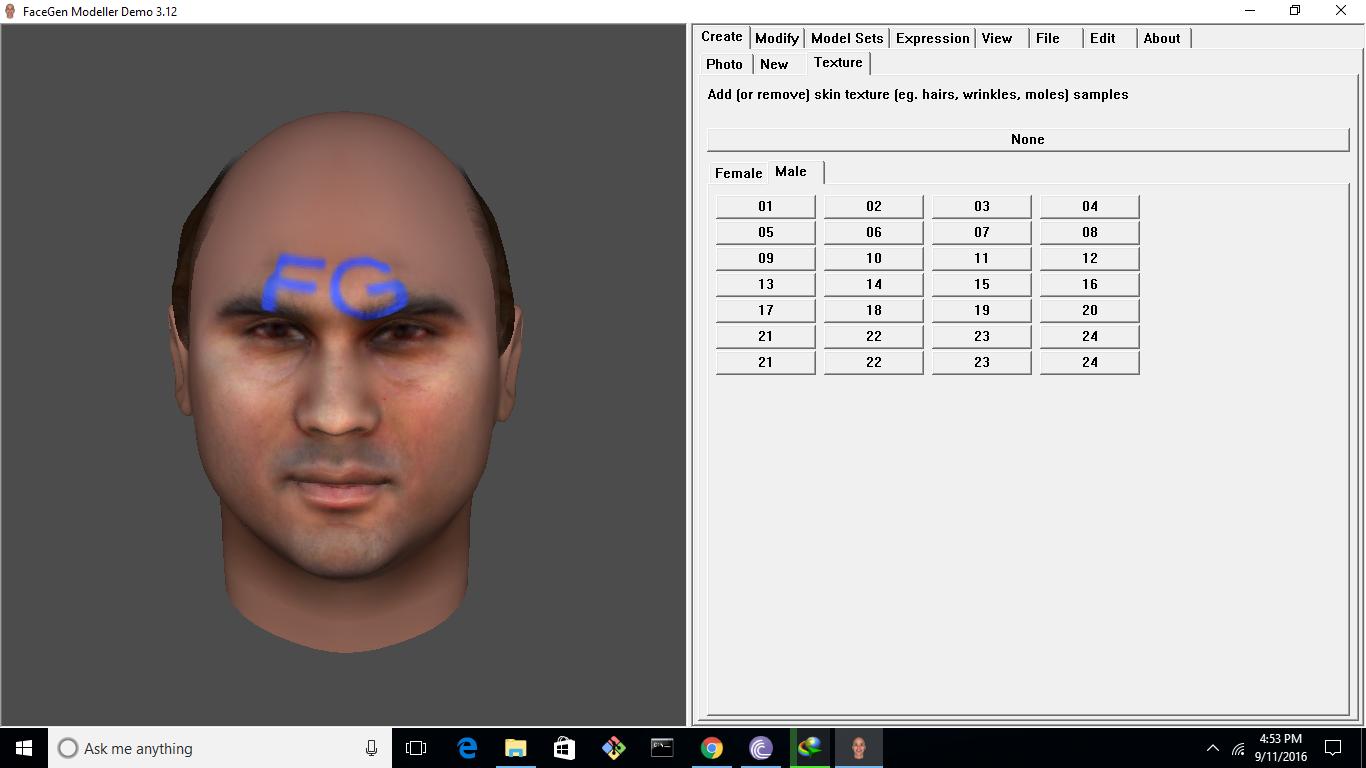 3-d facial reconstruction software