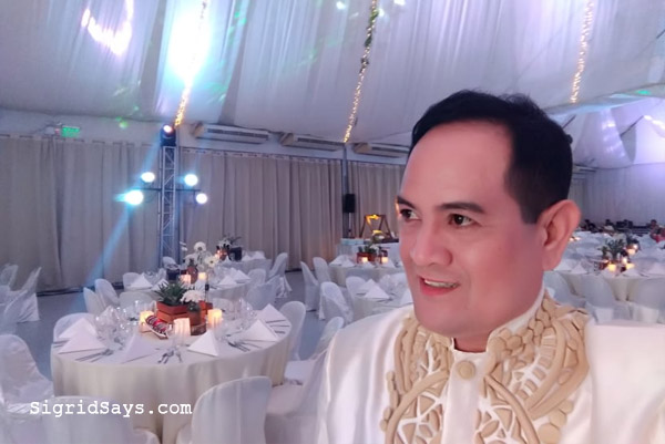 Cyrus Alcala - wedding host - Bacolod wedding suppliers