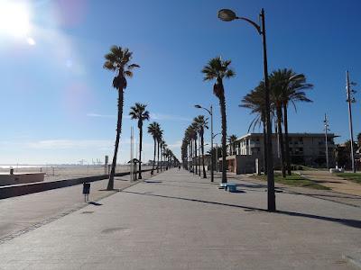 paso marítimo de la Patacona en Valencia