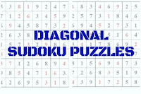 Diagonal Sudoku Variation Puzzles