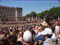 Cambio de la guardia en Buckingham Palace