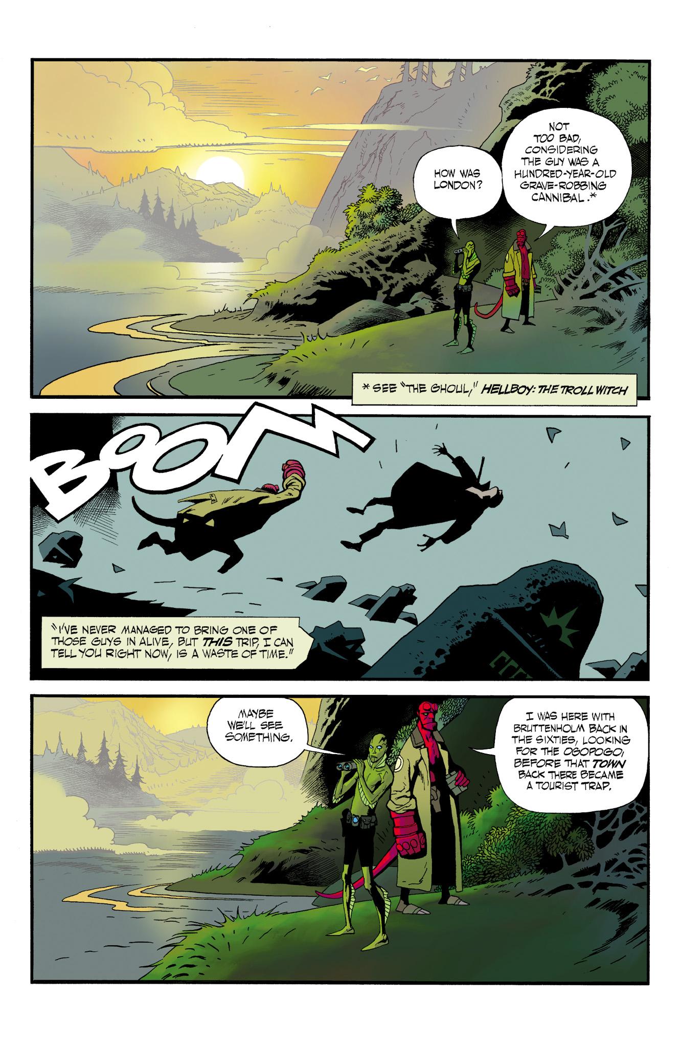 Read online Abe Sapien comic -  Issue #23 - 4