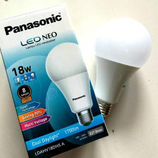 Daftar List Harga Lampu LED Panasonic 2018