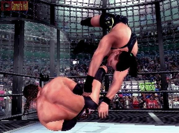 WWE SmackDown! Here Comes the Pain PS2 GAME ISO Gameplay 1