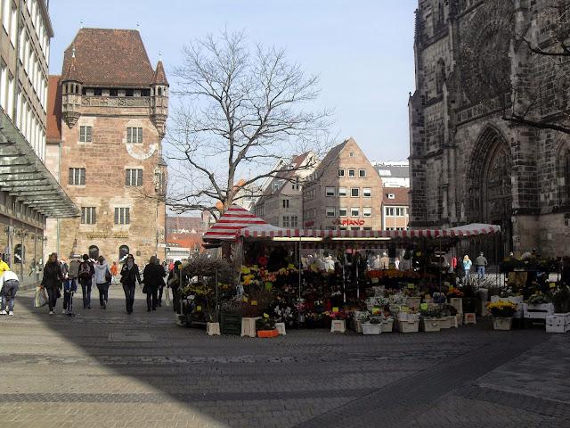 calles de nuremberg alemania