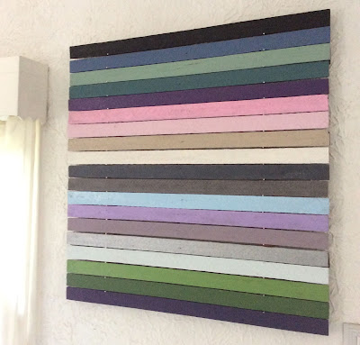 modern art stripes movable painting stefanie girard