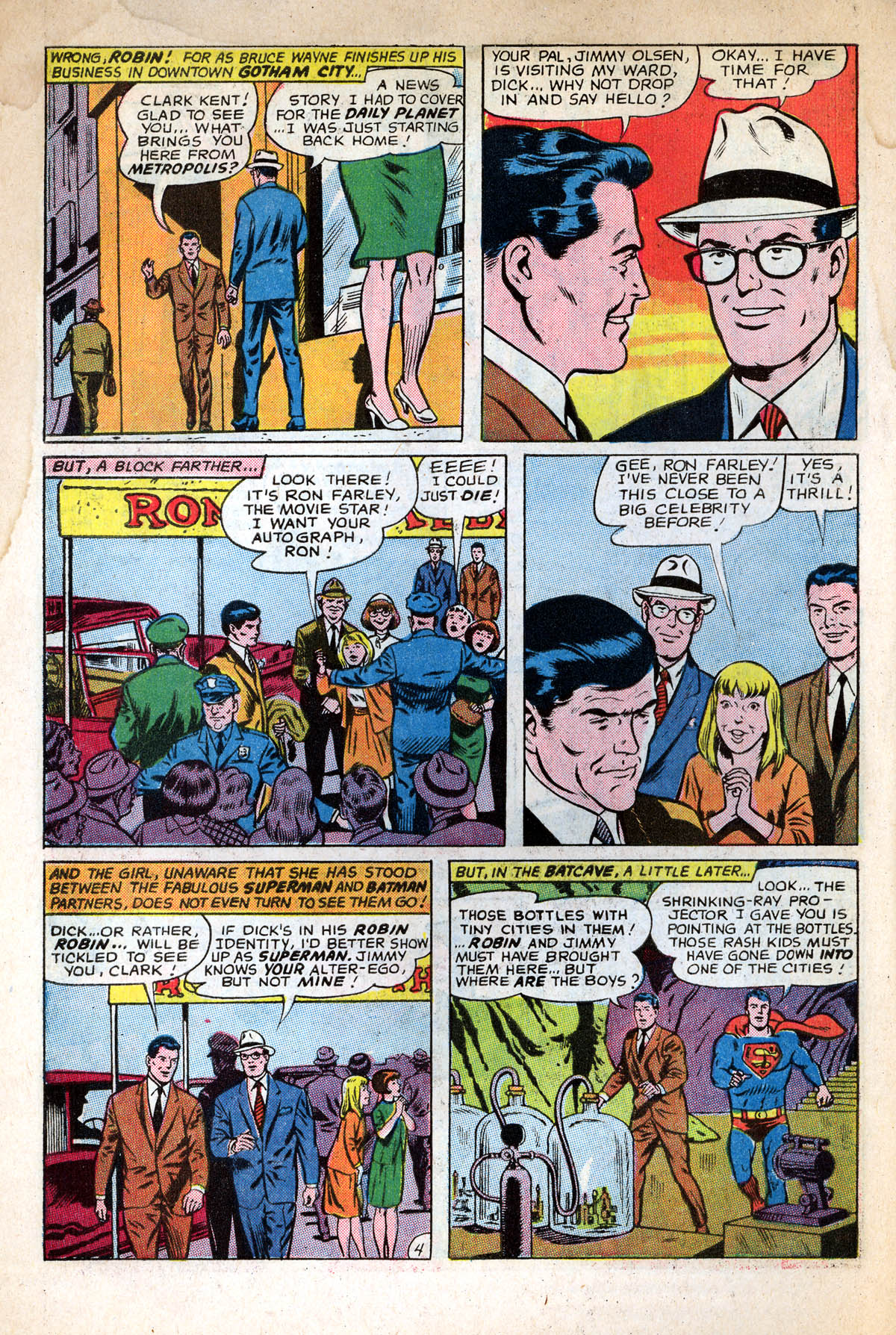 Read online World's Finest Comics comic -  Issue #158 - 6