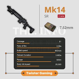 mk14 pubg
