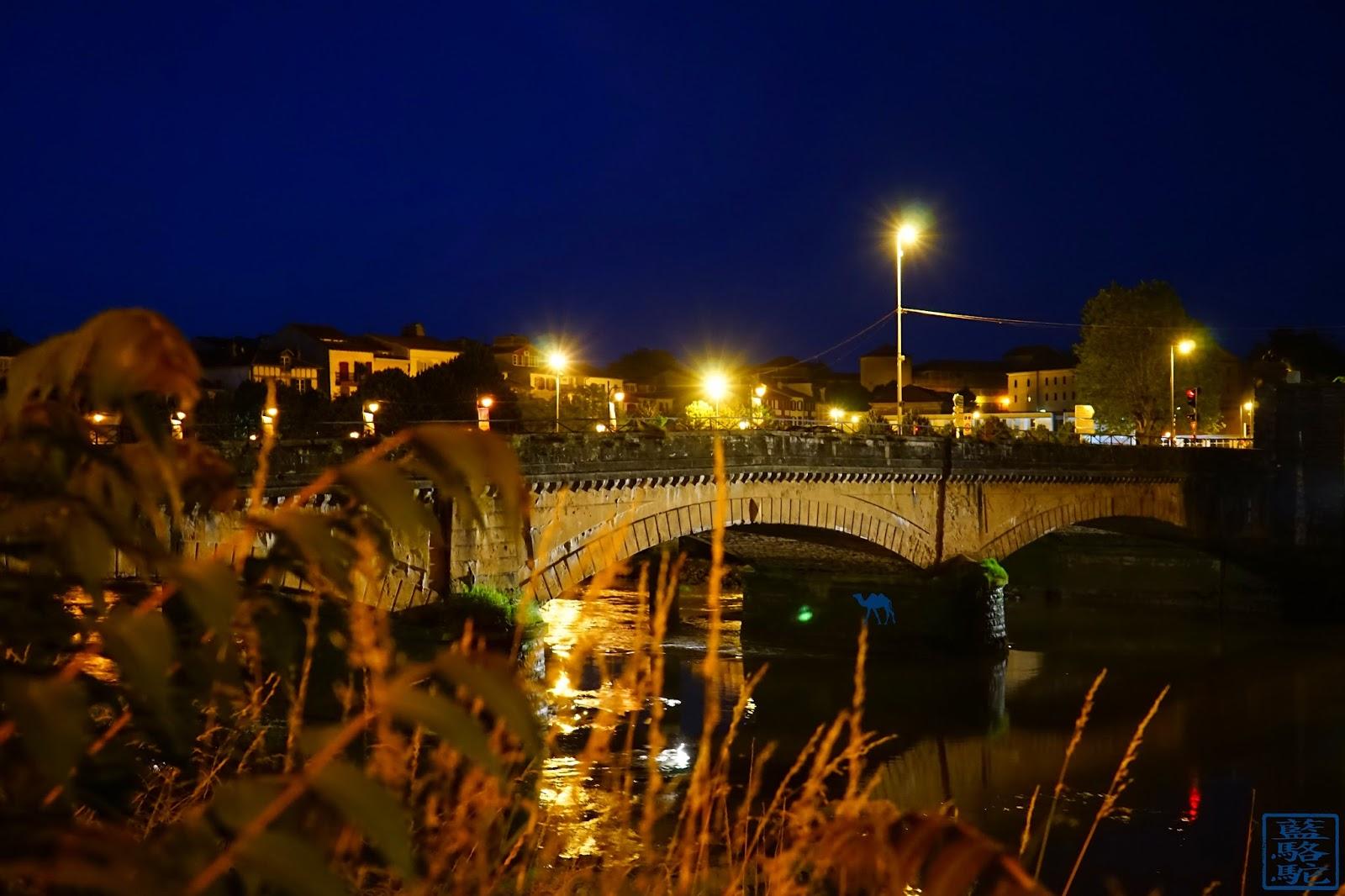 Le Chameau Bleu -Blog Voyage Bayonne France -  Pont du Génie  de  Bayonne - Pays Basque