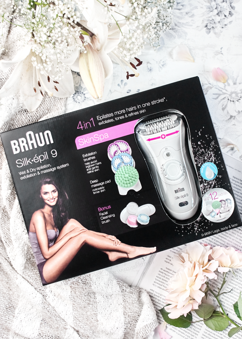 depilator Braun Silk-epil 9 Skin Spa blog opinie