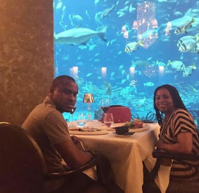Vincent Enyeama and his wife Promise Enyeama celebrate their 10 years  Wedding Anniversary