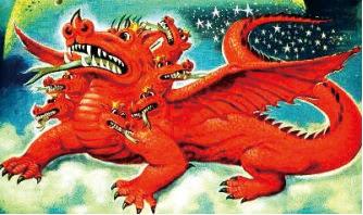 Hasil gambar untuk gambar naga merah padam