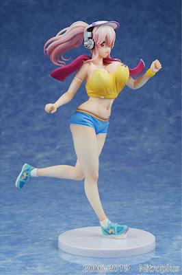 Figuras: Imágenes y detalles de Super Sonico Jogging Ver. -  Kaitendoh