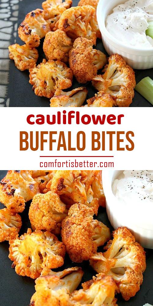 Bufallo Cauliflower Bites Recipes