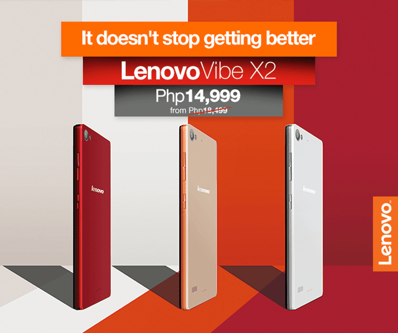 LENOVO VIBE X2 GETS A PRICE CUT, DOWN TO 14,999 PESOS!
