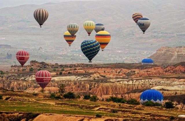 Cidade Turística Capadócia na Turquia