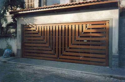 Model Pintu Garasi Modern