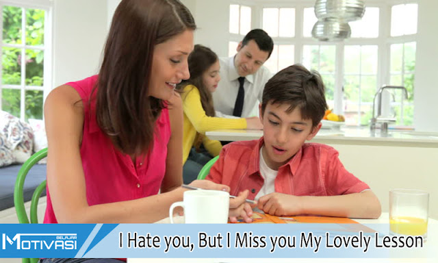 I Hate you, But I Miss you My Lovely Lesson