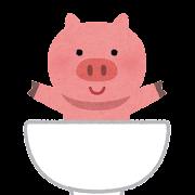 豚丼のキャラクター