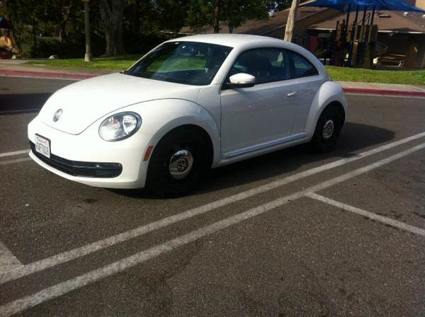 used 2012 vw beetle white bug low milesowner