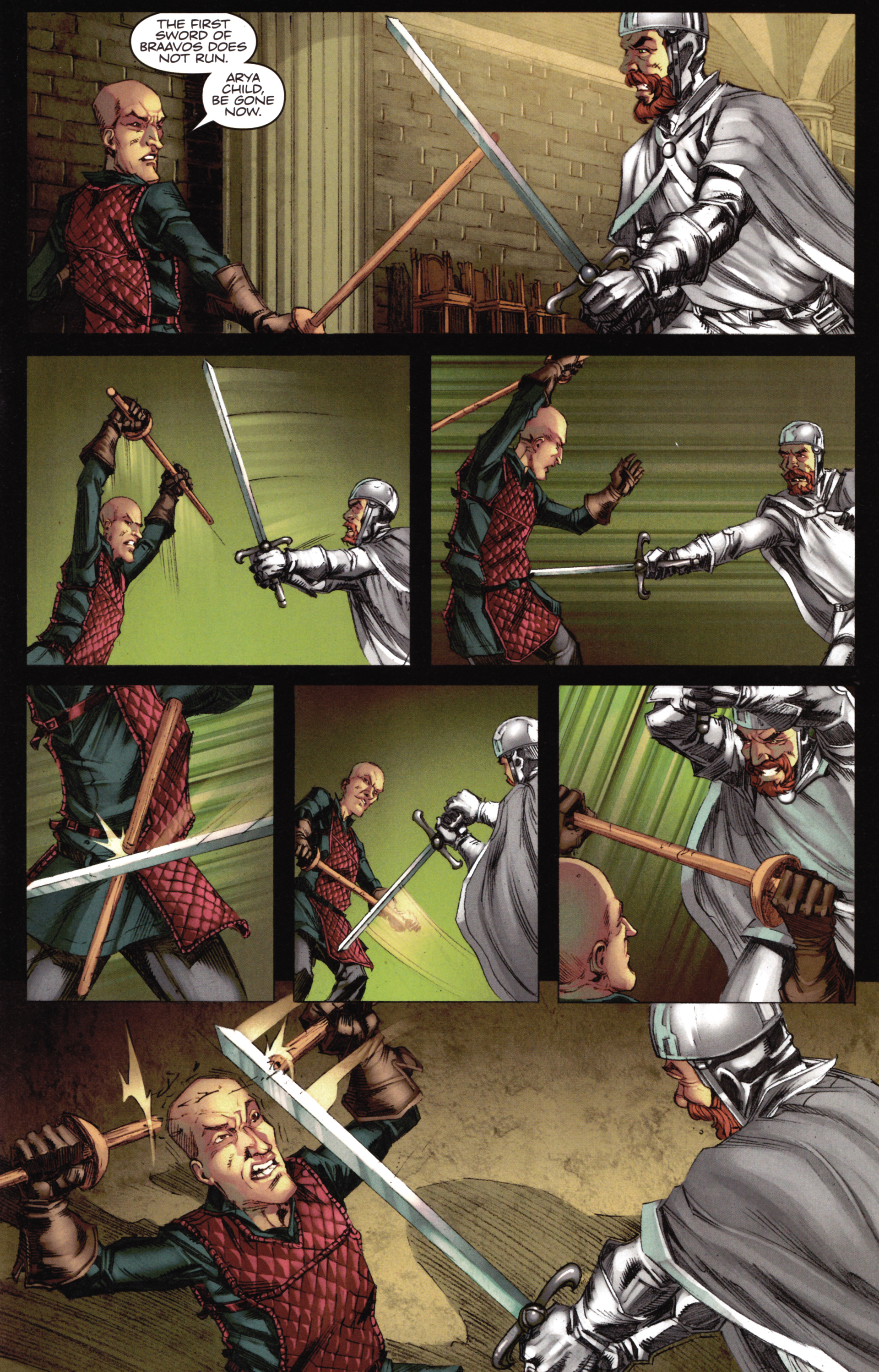 Read online A Game Of Thrones comic -  Issue #16 - 19