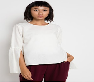 baju atasan lengan panjang model baru