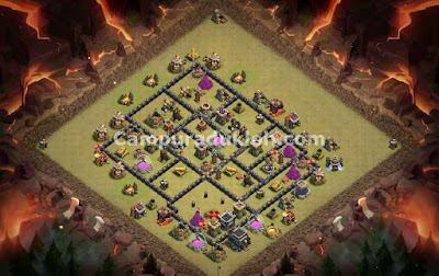 Base Town Hall 9 COC