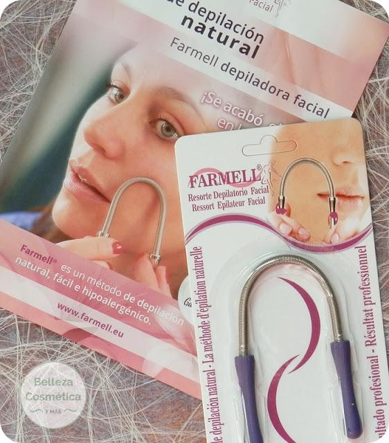 Muelle depilacion facial Farmell