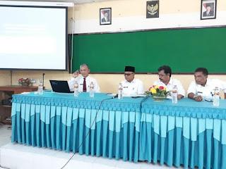 FB IMG 1513843304908 - SEKPROV KALTARA- Adakan Pertemuan dengan Kepala Sekolah Dan Guru Se-Tarakan