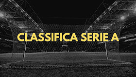 Classifica Serie A ed Esteri