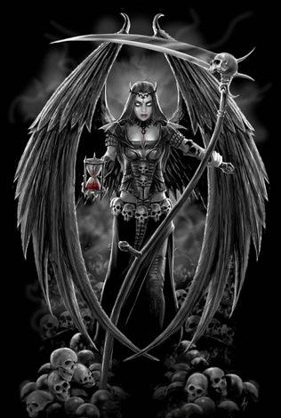Tattoo art: Death tattoos: angels of death - themes and ...