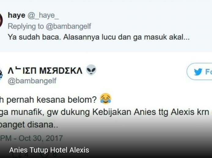 Komentar Netizen Membludak, Anies Tutup Hotel Alexis