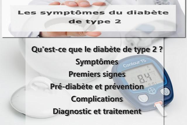 Quels sont les symptômes du diabète de type 2 ?