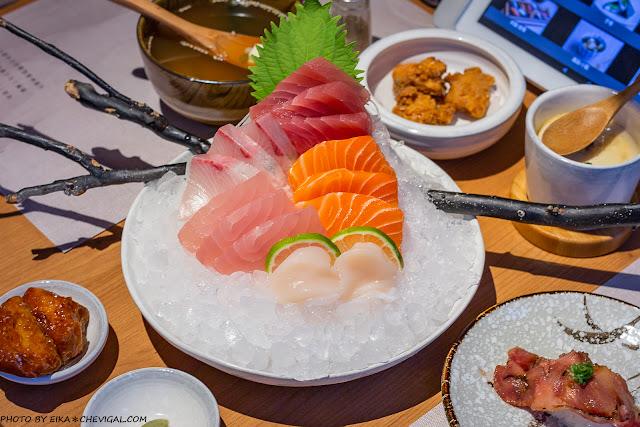 MG 8288 - 一笈壽司,輕井澤集團旗下品牌,在超美清水模建築內不用250元就能享用壽司超值套餐!
